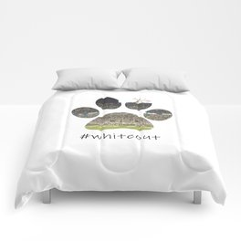 #whiteout Comforters