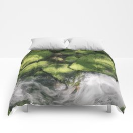 Feel the Wetness in the Air Comforters