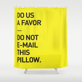Save the planet. Shower Curtain