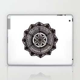 Shades of Grey Mandala Laptop & iPad Skin