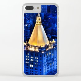 New York Life Building Clear iPhone Case