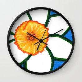 Daffy Dill Wall Clock