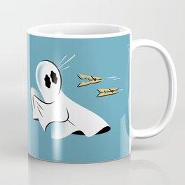 A Fearful Phantom (Teal) Coffee Mug