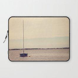 Lone Boat Laptop Sleeve