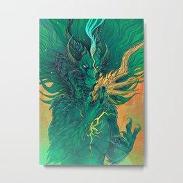 Ignite  Metal Print
