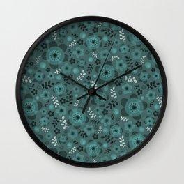 miniflower -1 Wall Clock