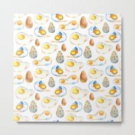 """Eggs collection"" Metal Print"