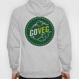 Go Veg sticker Hoody