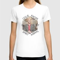 leslie knope T-shirts featuring Leslie Knope is My Spirit Animal by Dwell Beautiful
