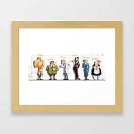 Cluedo Framed Art Print