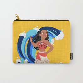 Moana and the Ocean's Waves Carry-All Pouch
