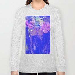Free Love - girls kissing Long Sleeve T-shirt