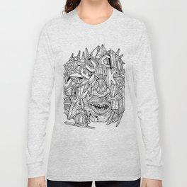 Geometric Mutations: FU*K Long Sleeve T-shirt