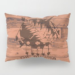 Oklahoma Flag Brand Pillow Sham