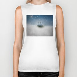 Charting the Clouds Biker Tank