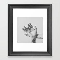 Surrender the best you can Framed Art Print