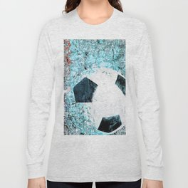 Soccer art Long Sleeve T-shirt
