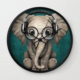 Hip Elephant Wall Clock
