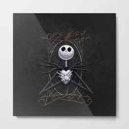 jack skellingtoon Metal Print