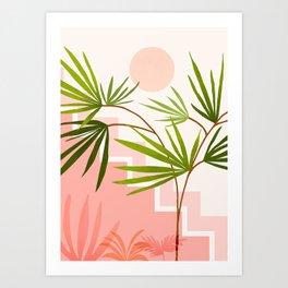 Summer in Belize Art Print