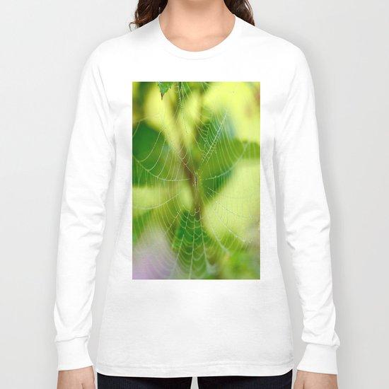 Beautiful Cobweb Long Sleeve T-shirt