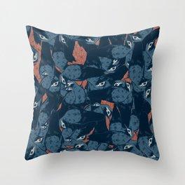 colaptes rivolii 2 Throw Pillow