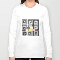 macarons Long Sleeve T-shirts featuring macarons by antoloxia