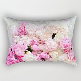 summer peonies Rectangular Pillow