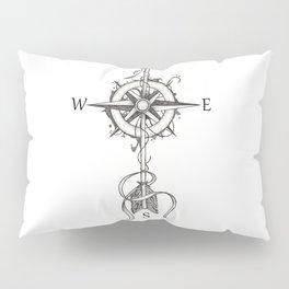 Time flies like an arrow (tattoo style) Pillow Sham