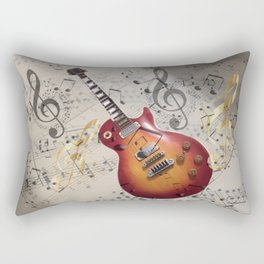 WHILE MY GUITAR GENTLY WEEPS Rectangular Pillow