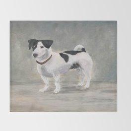 Mikko, Jack Russell Terrier Throw Blanket