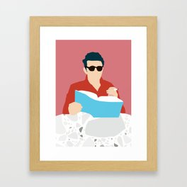 Dean Framed Art Print