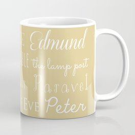 Narnia Celebration- oat Coffee Mug