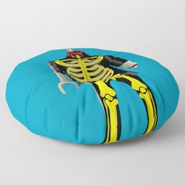 Playmo_Zombie_by LelosLovesYou Floor Pillow