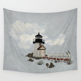 Brant Point Light Wall Tapestry