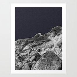 Paper Cliff Art Print