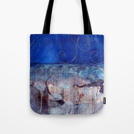 Chicxulub - Bluer version Tote Bag