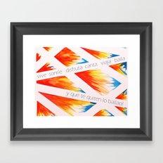 Que te quiten lo bailao! Framed Art Print