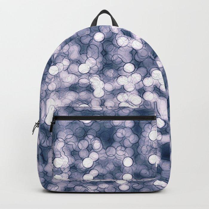 Abstract circle #7 Backpack