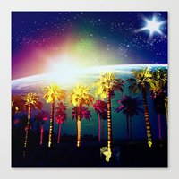 coachella Canvas Prints featuring Coachella Palms by Jason Chase