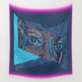 Christian Abstract Prophetic Art: The Plight of Loyalty Wall Tapestry
