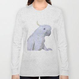 Contemplative Cockatoo Long Sleeve T-shirt