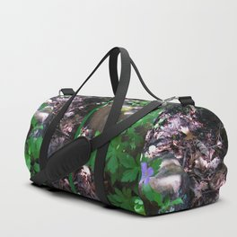Flowers by the Falls Duffle Bag