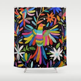 pajaros Otomi Shower Curtain
