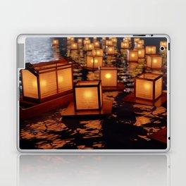 Japanese floating lantern Laptop & iPad Skin