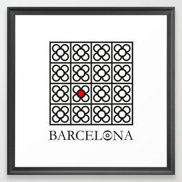 Barcelona #1 Framed Art Print