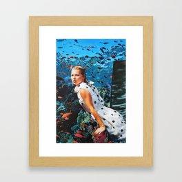 Kate Moss Framed Art Print