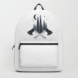 Axes. Double Exposure Backpack