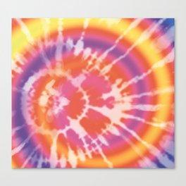 Tie-dye pattern Canvas Print