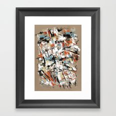If I Look Hard Enough Framed Art Print